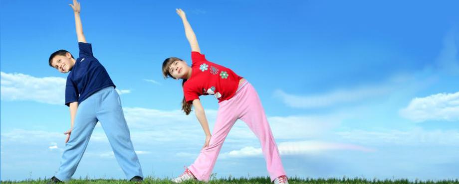 Fitnesstrainer für Kids