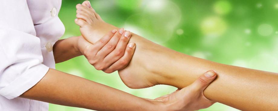 Fußreflexzonen-Massage